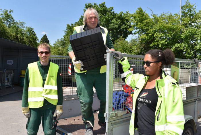 Bild Team Recyclinghöfe